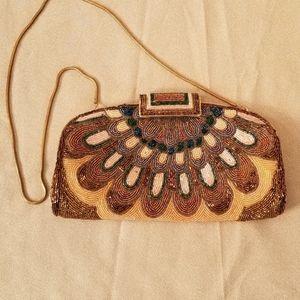 Jeromes Hong Kong Bags - Gorgeous Vintage Beaded Evening Bag